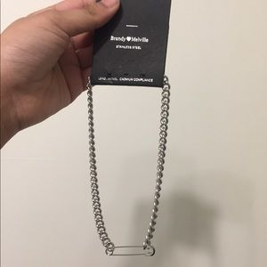 brandy melville stainless steel necklace